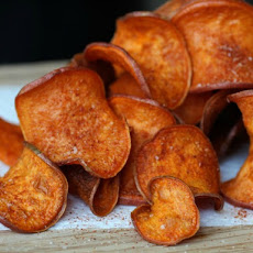 Barbecue Sweet Potato Chips