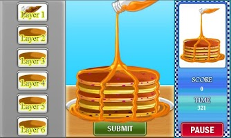 Screenshot of Cindy's Pancake Craze