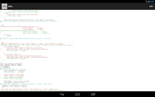 Screenshot of Diffa