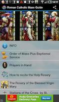 Screenshot of Roman Catholic Mass Guide