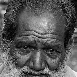 by Rakesh Syal - Black & White Portraits & People (  )