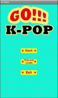 Screenshot of Go Kpop