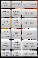 Screenshot of Les Grossman Soundboard