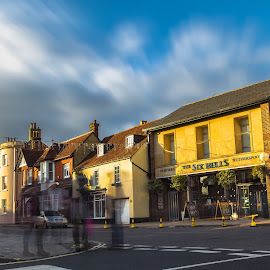 The Six Bells by Stephen Bridger - City,  Street & Park  Neighborhoods ( england, uk, wetherspoons, lymington, long exposure, travel, pub, travel photography, united kingdom, britain )
