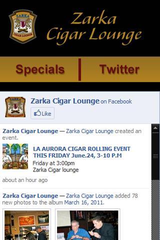 Zarka Cigar Lounge