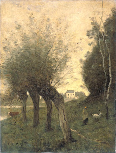 RIJKS: Camille Corot: painting 1875