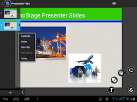 Screenshot of IncStage Presenter