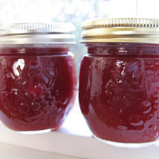 Cranberry Pear and Lemon Jam