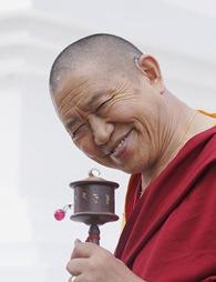 Garchen Rinpoche in Medelon Germany