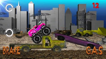 Screenshot of Monster Truck Junkyard
