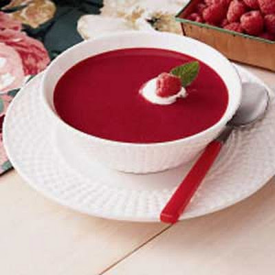 Cool Raspberry Soup
