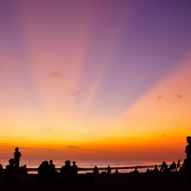 by RA IMOT - Landscapes Travel ( kuta, bali, sunset, rol, travel,  )