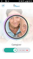 Screenshot of tweri Alzheimer caregiver tool