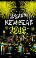 Screenshot of New Year 2015 Live Wallpaper