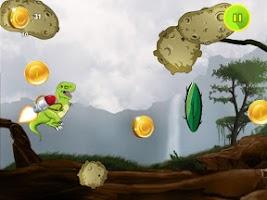 Screenshot of Jetpack Dinosaur