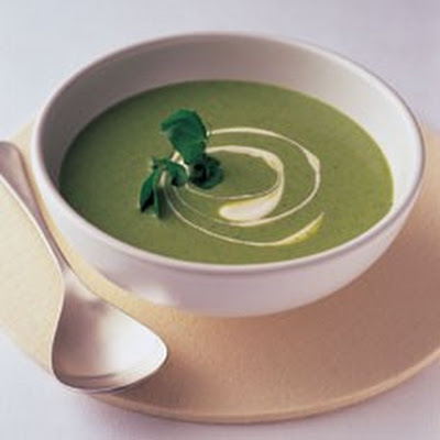 Watercress and Buttermilk Vichyssoise