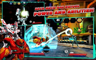 Screenshot of Mechs vs Aliens