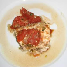 Red Snapper with Tomato Caper Sauce