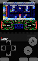 Screenshot of fMSX Deluxe - MSX Emulator