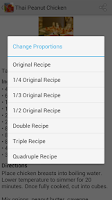 Screenshot of My Recipes Lite+