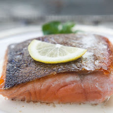 Salmon with Lemon Cream Sauce