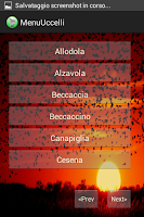 Screenshot of Professional Birds Calls