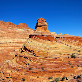 Lighthouse at the wave by Tyrell Heaton - Landscapes Deserts ( utah, lighthouse at the wave )