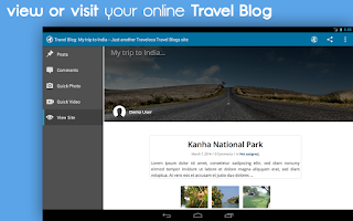 Screenshot of Traveloca - Travel Blog