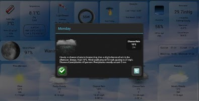 Screenshot of WeatherView Free. Weather Free