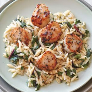 Seared Scallops With Orzo Recipes