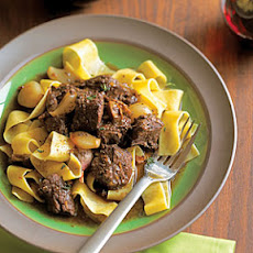 Beef Daube with Shallots and Dried Porcini
