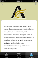 Screenshot of Ambank Insurance
