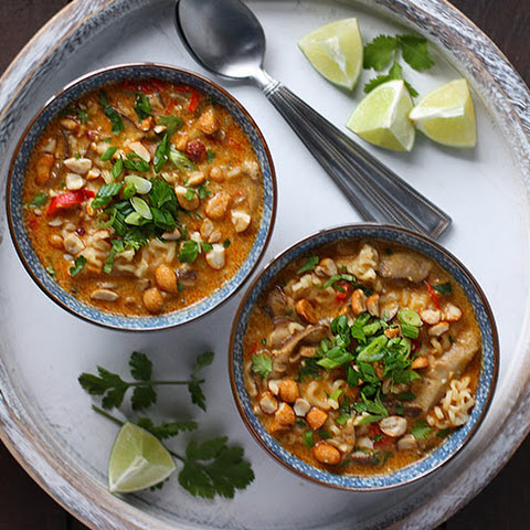 Vegetarian Thai Peanut Soup