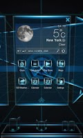 Screenshot of Ray Next Launcher 3D Theme