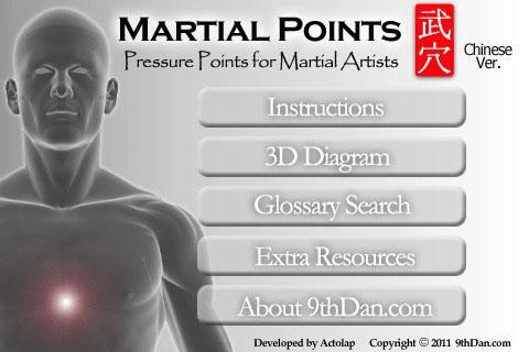 玩免費健康APP|下載Martial Points 武穴 app不用錢|硬是要APP