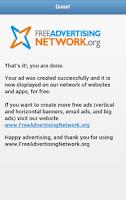 Screenshot of Free Advertising Network