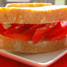 Mostly a Tomato Sandwich With Basil Mayonnaise