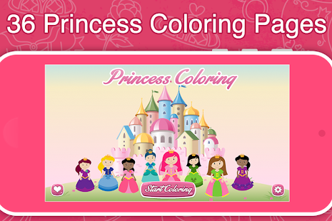 Game Princess Frozen Coloring Book APK For Windows Phone