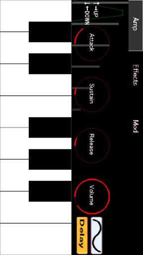 アナログシンセサイザーPro:キーボードピアノ楽器