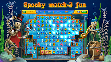 Screenshot of Fishdom Spooky HD
