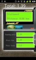 Screenshot of TaxiChecker
