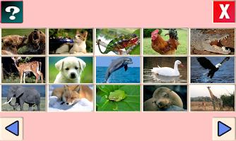 Screenshot of 어린이 영어/한글 동물놀이(유아 한글 영어 공부)