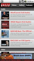 Screenshot of The Official SPEED Channel App