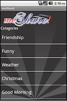 Screenshot of meShare!