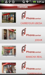 Phonecenter - screenshot