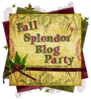 Fall Splendor Blog Party Logo