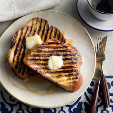 Grilled Vanilla French Toast