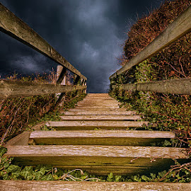 Stairs  by Awais Khalid - Buildings & Architecture Other Exteriors ( stairs, nature, dramatic, sea, beach )