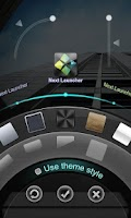 Screenshot of Next Launcher 3D Theme Dark