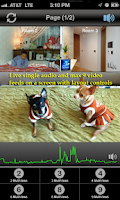 Screenshot of uViewer for D-Link Cameras